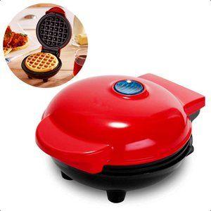 "4""Mini Non Stick Waffle Maker Machine"